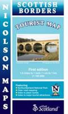 Picture of Nicolson Tourist Map Scottish Borders
