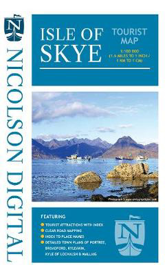 Picture of Nicolson Tourist Map Skye