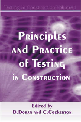 Picture of Principles and Practice of Testing in Construction: v.1