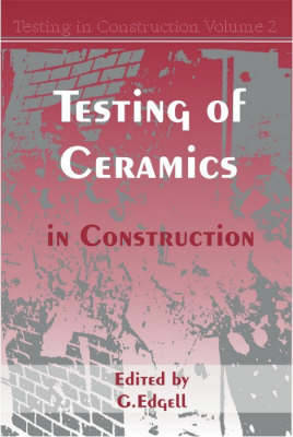 Picture of Testing of Ceramics in Construction: v.2