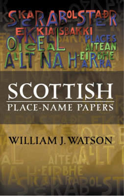Picture of Scottish Place-Name Papers