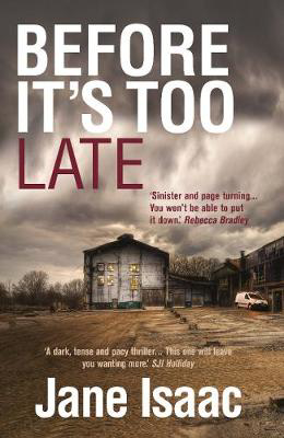 Picture of Before It's Too Late (The DI Will Jackman Thrillers Book 1)