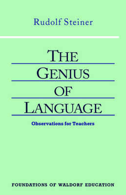 Picture of Genius of Language: Observations for Teachers