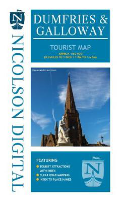 Picture of Nicolson Tourist Map Dumfries and Galloway