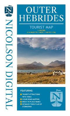 Picture of Nicolson Tourist Map Outer Hebrides