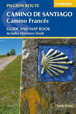 Picture of Camino de Santiago: Camino Frances: Guide and map book - includes Finisterre finish