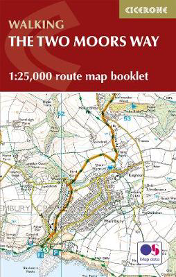 Picture of Two Moors Way Map Booklet: 1:25,000 OS Route Mapping