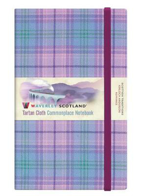 Picture of Romance Tartan:  Large: 21 x 13cm Waverley Notebook: Scottish Traditions