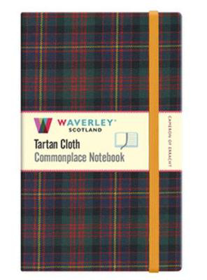 Picture of Cameron of Erracht: Waverley Scotland Large Tartan Commonplace Notebook