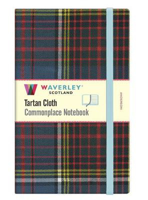 Picture of Waverley Anderson Tartan Large Notebook: 21cmx13cm