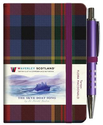 Picture of The Skye Boat Song Tartan Notebook (mini with pen)