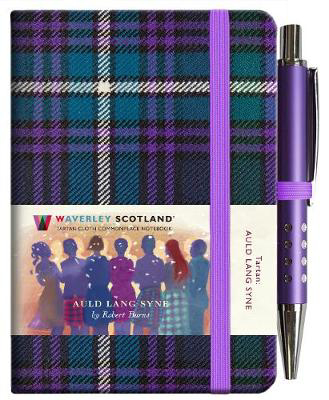 Picture of Auld Lang Syne Tartan Notebook (mini with pen)