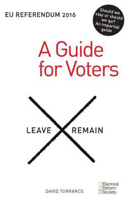 Picture of EU Referendum 2016: A Guide for Voters