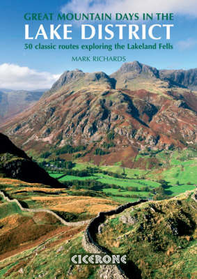 Picture of Great Mountain Days in the Lake District: 50 classic routes exploring the Lakeland Fells