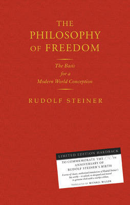 Picture of The Philosophy of Freedom: The Basis for a Modern World Conception