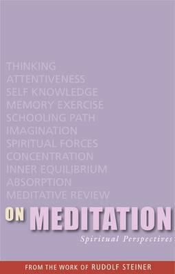 Picture of On Meditation: Spiritual Perspectives