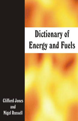 Picture of Dictionary of Energy and Fuels
