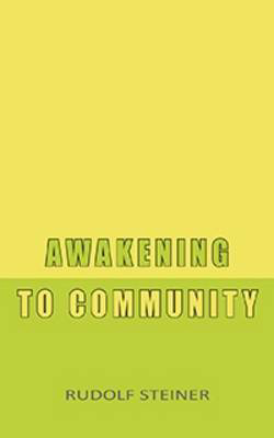 Picture of Awakening to Community