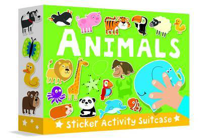 Picture of Sticker Activity Suitcase - Animals