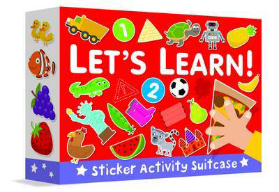 Picture of Sticker Activity Suitcase - Let's Learn!