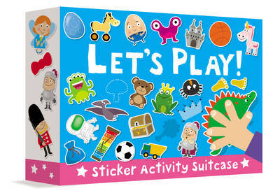 Picture of Sticker Activity Suitcase - Let's Play!
