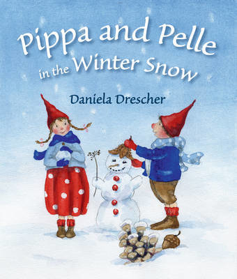 Picture of Pippa and Pelle in the Winter Snow