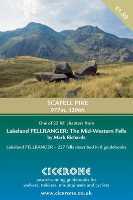 Picture of Scafell Pike: extract from The Mid-Western Fells