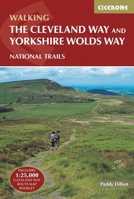 Picture of The Cleveland Way and the Yorkshire Wolds Way: Includes 1:25,000 Cleveland Way route map booklet