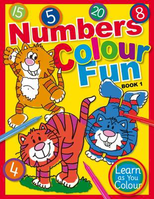 Picture of Numbers Colour Fun: Book 1
