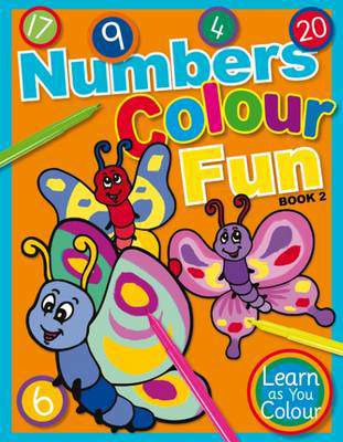 Picture of Numbers Colour Fun: Book 2