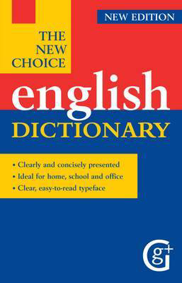 Picture of The New Choice English Dictionary