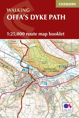Picture of Offa's Dyke Map Booklet: 1:25,000 OS Route Mapping