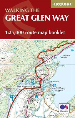 Picture of The Great Glen Way Map Booklet: 1:25,000 OS Route Mapping