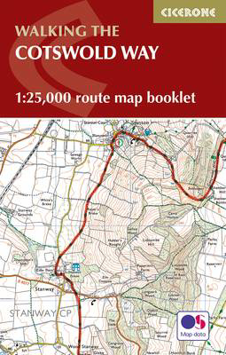 Picture of The Cotswold Way Map Booklet: 1:25,000 OS Route Mapping