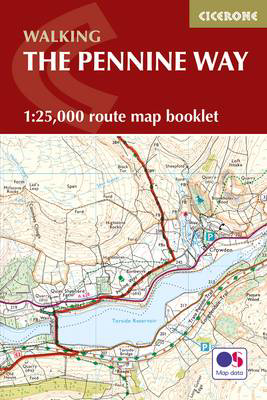 Picture of Pennine Way Map Booklet: 1:25,000 OS Route Mapping