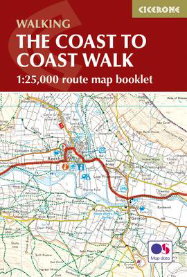 Picture of The Coast to Coast Map Booklet: 1:25,000 OS Route Map Booklet