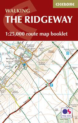 Picture of The Ridgeway Map Booklet: 1:25,000 OS Route Mapping