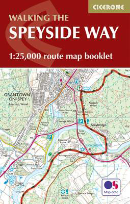 Picture of The Speyside Way Map Booklet: 1:25,000 OS Route Mapping