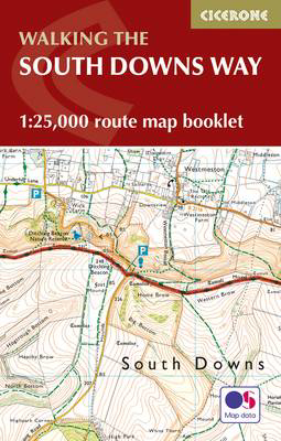 Picture of The South Downs Way Map Booklet: 1:25,000 OS Route Mapping