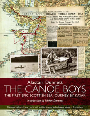 Picture of The Canoe Boys: The First Epic Scottish Sea Journey by Kayak