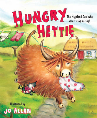 Picture of Hungry Hettie: The Highland Cow Who Won't Stop Eating!