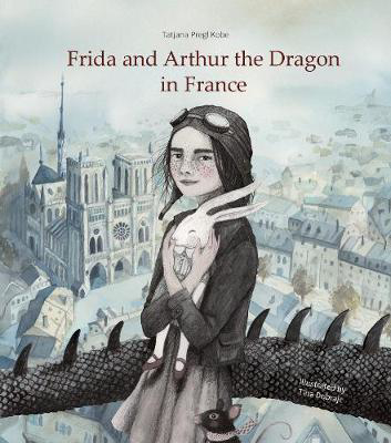 Picture of Frida and Arthur the Dragon in France
