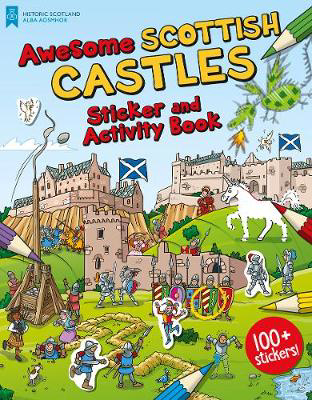 Picture of Awesome Scottish Castles: Sticker and Activity Book