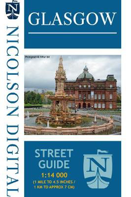 Picture of Nicolson Glasgow Street Guide (Card Cover)