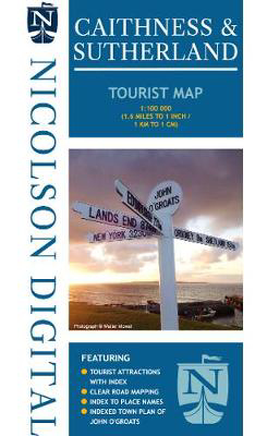 Picture of Nicolson Caithness & Sutherland Tourist Map