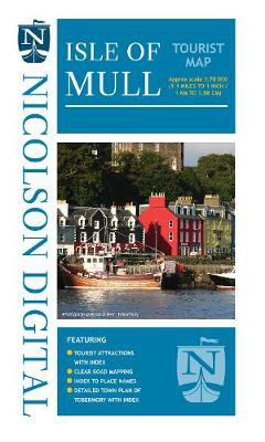 Picture of Nicolson Tourist Map Mull