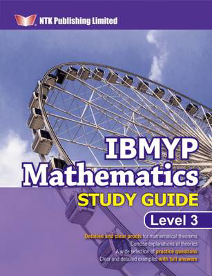 Picture of IBMYP MATHEMATICS STUDY GUIDE LEVEL 3
