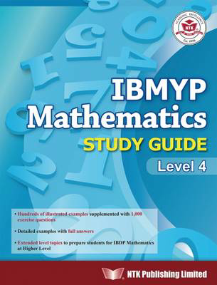 Picture of IBMYP MATHEMATICS STUDY GUIDE LEVEL 4