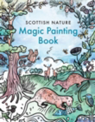 Picture of Magic Painting Book: Scottish Nature