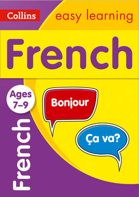 Picture of French Ages 7-9: Ideal for learning at home (Collins Easy Learning Primary Languages)